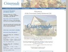Tablet Preview of crossroadsrestaurant.ca